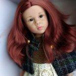 Великолепная Катарина (2) Готц Gotz с увеличеными живыми глазкаии