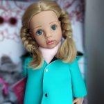 Сладкая малышка Грета с живыми глазками. Готц Gotz