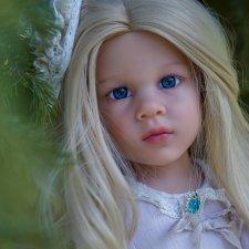 Ноэль ООАК Готц. (Noelle Gotz). Голубые глазки.