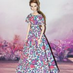 цветочное платье для кукол интегрити fashion royalty IT FR FR2/FR6/NF2