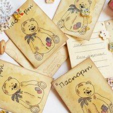Сертификат – паспорт для Тедди или куклы