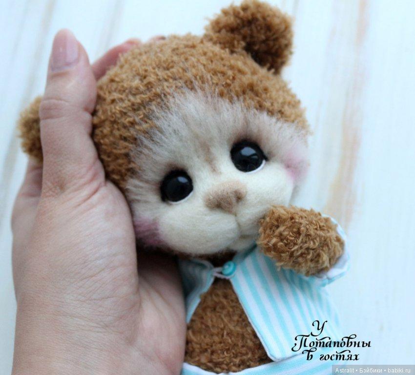 Имбирный пижамный мишка