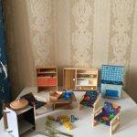 Кукольная мебель ГДР