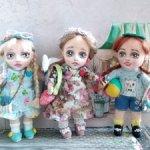 Мини- куколки подвески