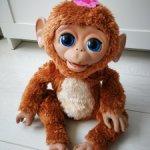Смешливая обезьянка от Hasbro интерактивная Робот