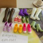 Обувь для Барби, винтаж, сапожки, лодочки