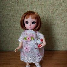 Кружевное платье для моей  любимицы