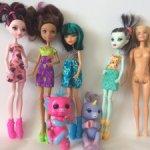 Лот кукол