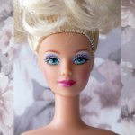 Happy Holidays Barbie 1998