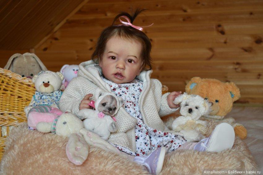 Кукла реборн Саския. Мастер Алина Антонова