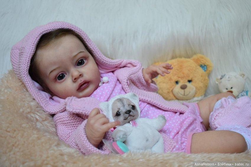 Кукла реборн из молда Хлоя от Натали Блик. Мастер Алина Антонова