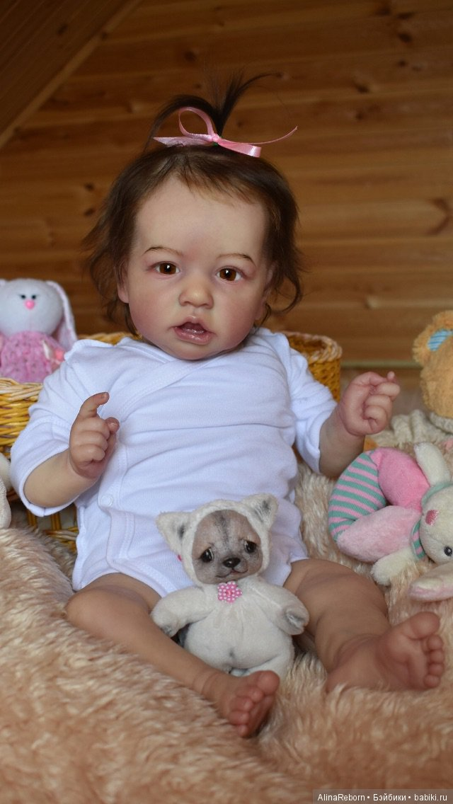Кукла реборн Саския от Бонни Браун. Мастер Алина Антонова