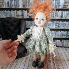Малышка Амели. Авторская кукла Лианы Каримовой