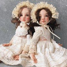 Авторские куколки Лианы Каримовой Элли и Мэри