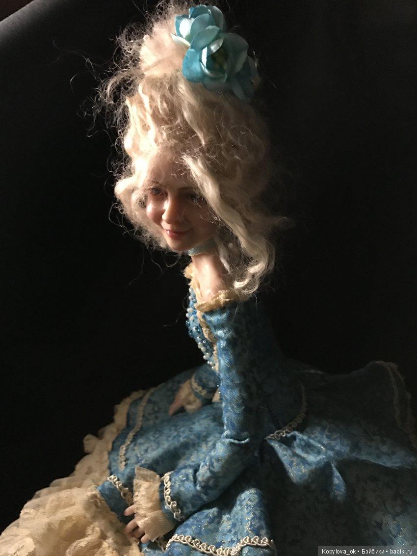Портретная кукла от автора kopylova_oksan.a