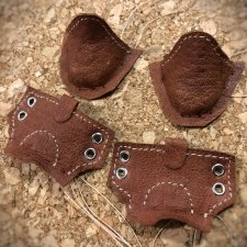Обувь из кожи без колодки