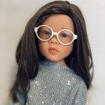 Стильные очки для кукол, размер 7 см
