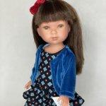 Кукла Vestida de Azul Карлотта брюнетка с челкой Актриса