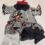 Набор Рождественская роза, для кукол ростом 45-50 см.