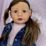 Кукла Грета Gotz, Готц, Grete Gotz, 7, Новинка 2020г.