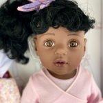 Кукла Ханна-балерина афроамериканка Gotz