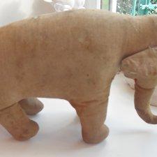 Слон и котик игрушка СССР