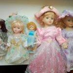 Фарфоровый куклы