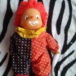 Клоун мягконабивной ГДР