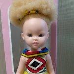 Кукла Зури Сибале (Sibahle), Паола Рейна альбинос