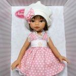 Кукла Эмили, брюнетка с каре Antonio Juan