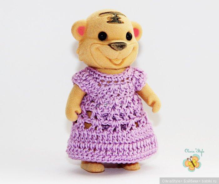 Сиреневое платье :)