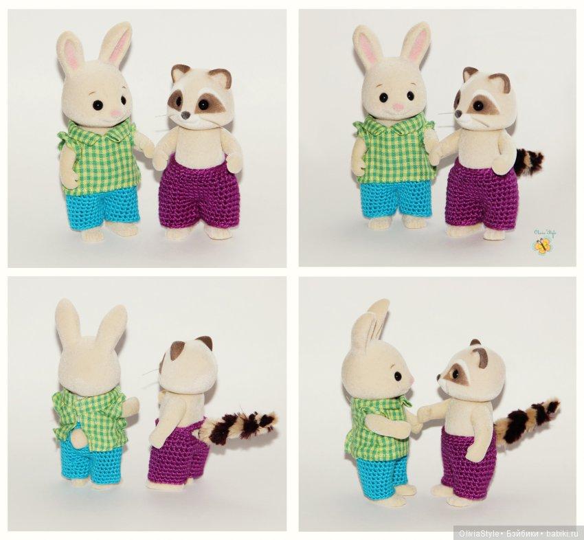 Штанишки и кофточки для Мальчишек :)
