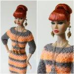 Платье + Комплект бижутерии для Поппи Паркер, Poppy Parker