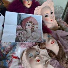 Интерьерная (будуарная) кукла из подручных средств