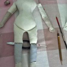 Выкройка тела для Чайна-Долл