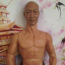 Портретка актера с реалистичным телом+джинсы