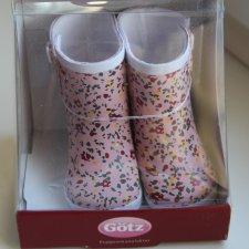 Резиновые сапожки Gotz для кукол 42-50 см.