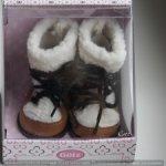 Очаровательные ботиночки для кукол Gotz 45-50см.