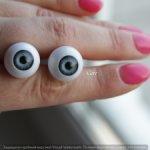 Акриловые глаза для кукол 16 мм.