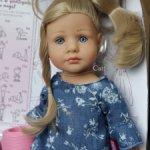 Куколка Gotz Лотта #4/Lotta №4 2021 года.