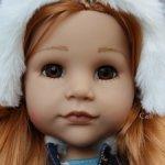 "Куколка Gotz ""Ханна с собачкой"" №02 2021 года."