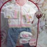 """Очаровательный аутфит """"Фламинго"""" для куколок Gotz 42-50 cм."""