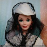 Куколка Барби/Barbie  Scarlett O'Hara 1994 года выпуска.