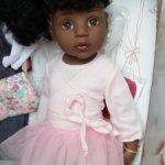 "Куколка Gotz ""Ханна-балерина"" афроамериканочка."
