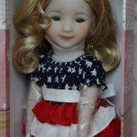 Куколка Либерти Джой Руби ред/Liberty Joy Ruby red.
