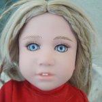Виниловая коллекционная кукла от Madame Alexander & Tommy Hilfiger