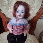 Мальчик антикварный K&R Simon&Halbig 126. 17000р (без рассрочки) только сегодня и завтра.
