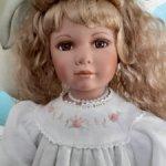 Фарфоровая  кукла , лимит выпуска 1000шт.для европейского рынка.