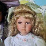 Kelly, фарфоровая  кукла , лимит выпуска 1000шт.для европейского рынка.