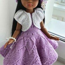 Нежный комплект для кукол Paola Reina и им подобных, на рост 32-34 см